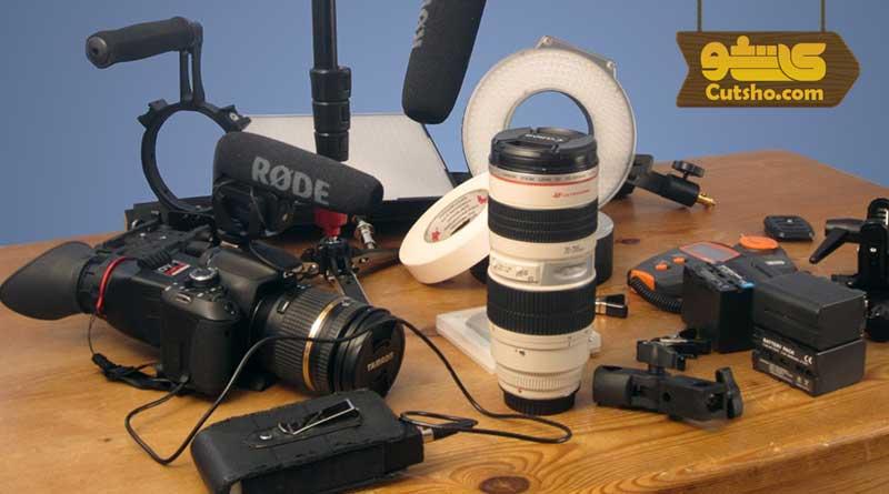 تجهیزات لازم برای فیلمبرداری عروسی | وسایل لازم برای تهیه فیلم عروسی